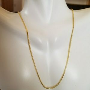 Jewelry - 18k Yellow Gold Filled Snake chain in 4 sizes